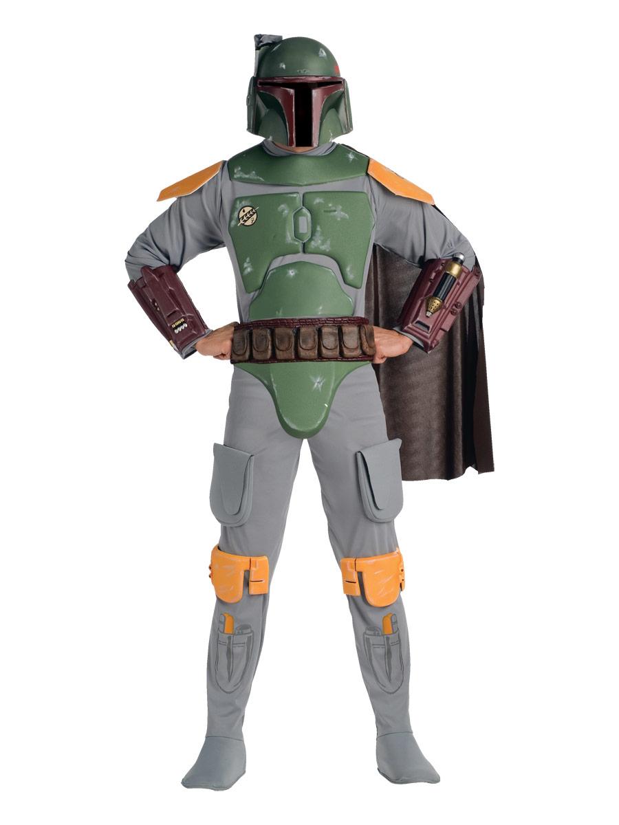 Costume Star Wars Costume adulte Star Wars Deluxe Bobba Fett