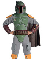 Costume adulte Star Wars Deluxe Bobba Fett Costume Star Wars