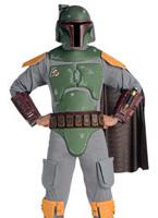 Costume adulte Star Wars Deluxe Bobba Fett Costume Star Wars