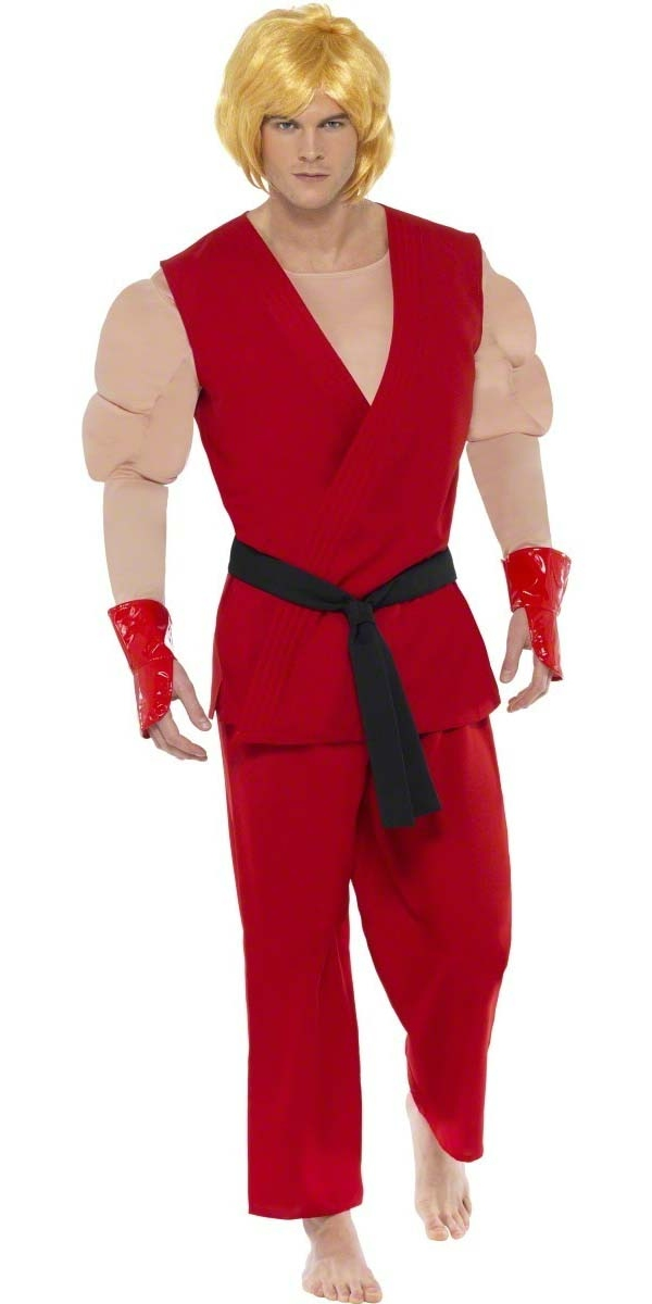 Deguisement Street Fighter Costume de Ken Street Fighter IV
