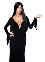 SW Morticia Addams Costume Famille Addams
