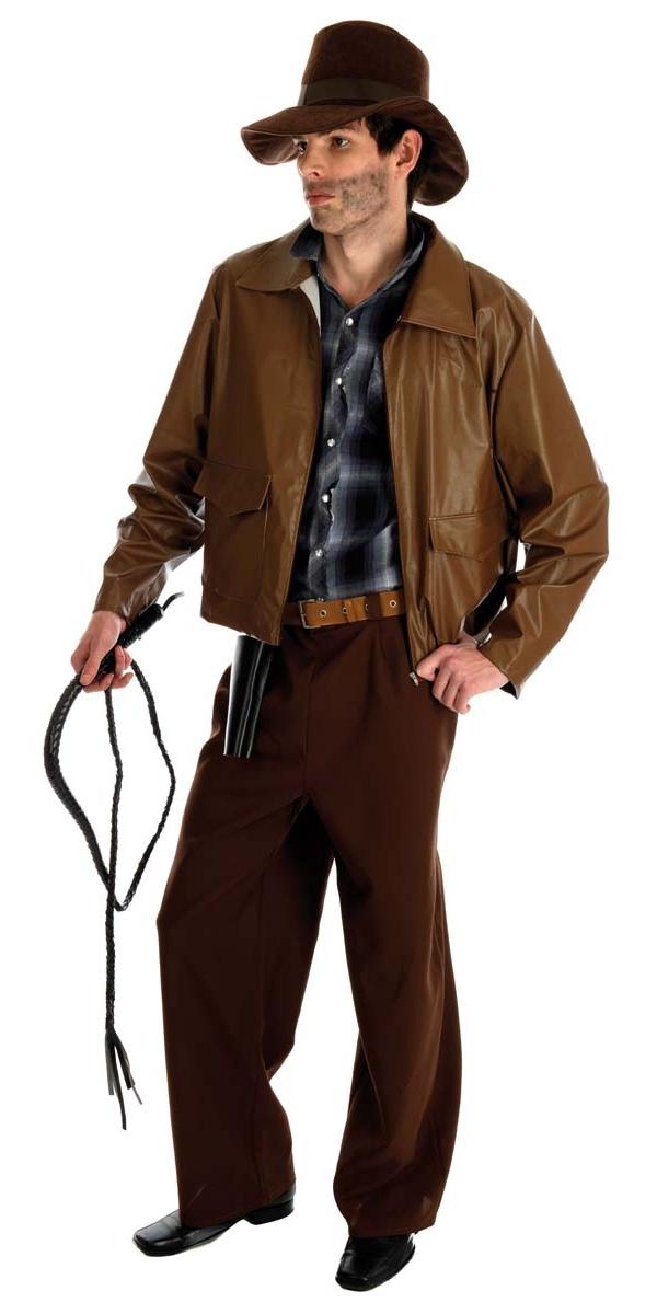 Costume de l'aventurier Costume Indiana Jones Déguisement Cinema - 10 ...