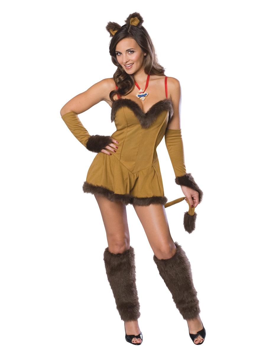 Costume Magicien d'Oz Lion peureux