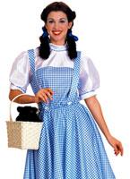 Costume Dorothy magicien d'Oz Costume Magicien d'Oz