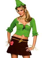 Costume d'épouvantail Costume Magicien d'Oz