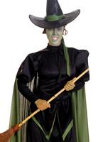 Costume de méchante sorcière du magicien d'Oz Costume Magicien d'Oz
