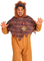 Costume de Lion Cowarddly du magicien d'Oz Costume Magicien d'Oz