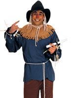 Costume d'épouvantail du magicien d'Oz Costume Magicien d'Oz