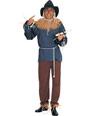 Costume Magicien d'Oz Costume d'épouvantail du magicien d'Oz