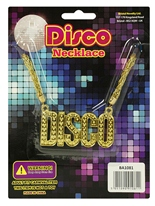 Collier Disco Accessoire Disco