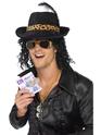 Accessoire Disco Bling Dollar argent Bill Clip