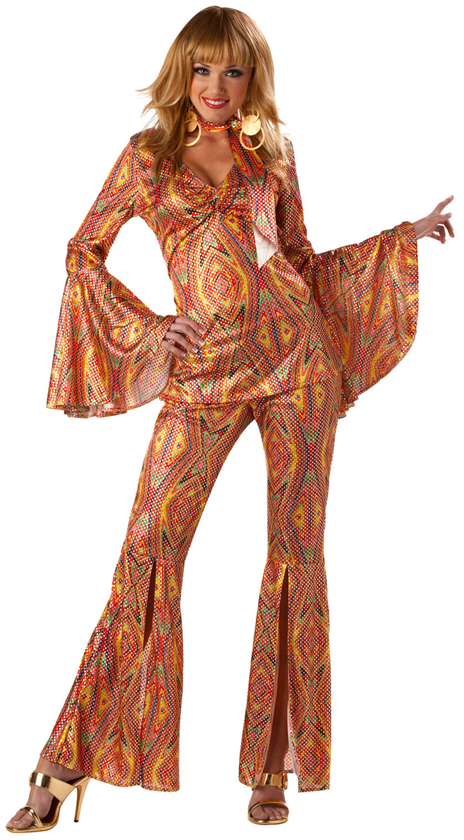Disco Deguisement Femme Costume de DiscoLiciuos