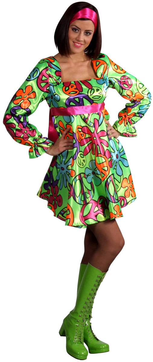 Disco Deguisement Femme 70 s magic Girl robe Costume