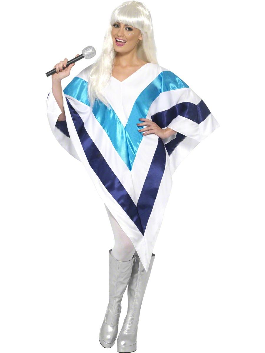 Disco Deguisement Femme Poncho Super Trooper