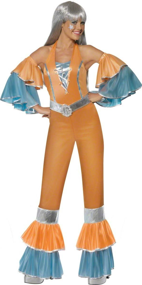 Disco Deguisement Femme 70 ' s Dancing Queen Disco Costume