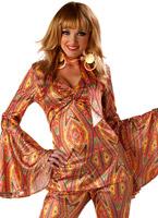 Costume de DiscoLiciuos Disco Deguisement Femme