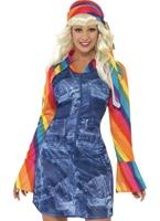Costume de danseuse Groovy Mesdames Disco Deguisement Femme