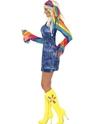 Disco Deguisement Femme Costume de danseuse Groovy Mesdames
