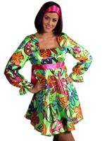 70 s magic Girl robe Costume Disco Deguisement Femme