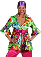 70 s magic Girl 2 pièces Costume Disco Deguisement Femme