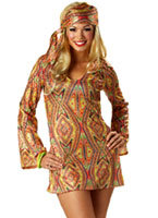 70 s disco Costume de Dolly Disco Deguisement Femme