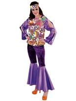 70 ' s Girl Costume Disco Deguisement Femme
