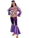Disco Deguisement Femme 70 ' s Girl Costume