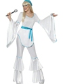 Disco Deguisement Femme Super Trooper Agnetha Costume