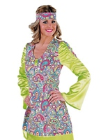 70 s Mesdames Costume heureux Disco Deguisement Femme