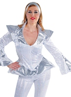 Costume Disco Queen Deluxe Disco Deguisement Femme
