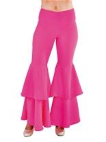 Pantalons pour femmes luxe Hippie rose Disco Deguisement Femme