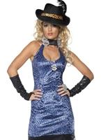 Costume Lady proxénète Disco Deguisement Femme