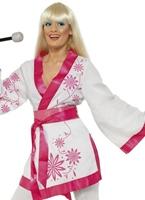 Costume Kimono mini Disco Deguisement Femme