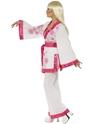 Disco Deguisement Femme Costume Kimono mini