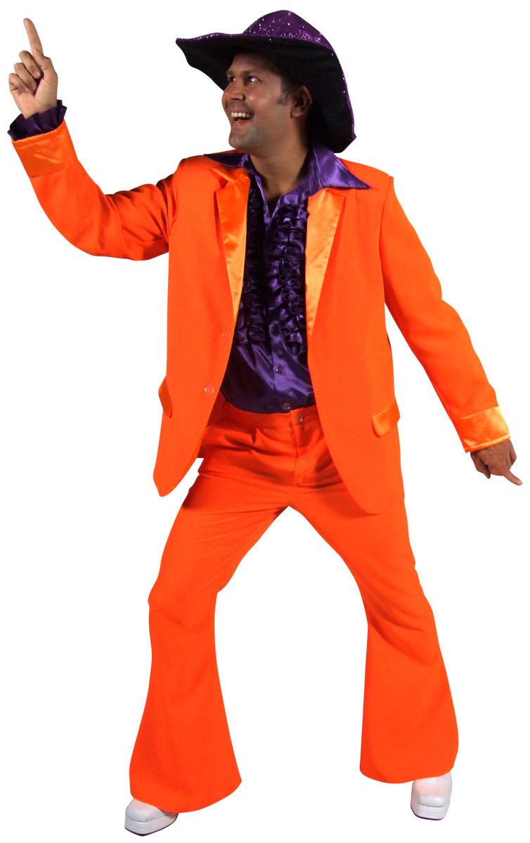 70 39 s mens costume orange disco d guisement homme d guisement disco 09 07 2018. Black Bedroom Furniture Sets. Home Design Ideas