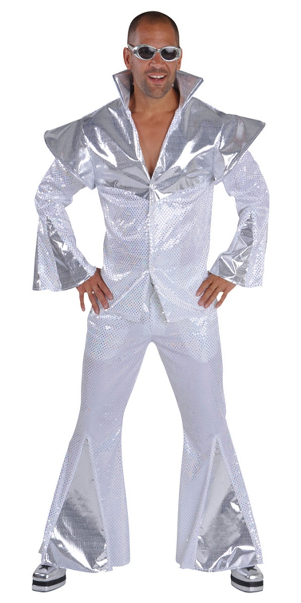 Disco Déguisement Homme Costume homme Disco 70 ' s Deluxe