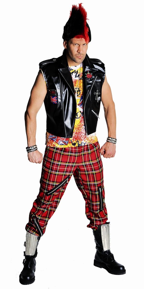 Disco Déguisement Homme Costume Punk de luxe
