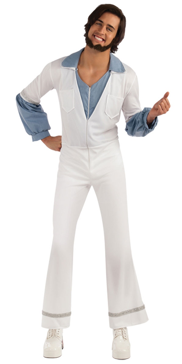Disco Déguisement Homme Abba Benny Costume