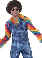 Costume de danseuse Groovy Mens Disco Déguisement Homme