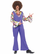 70 ' s Disco Jumpsuit Costume Disco Déguisement Homme