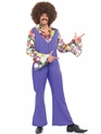 Disco Déguisement Homme 70 ' s Disco Jumpsuit Costume