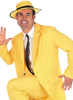 Costume costume jaune Disco Déguisement Homme