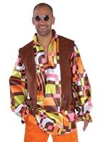 Costumes rétro 70 ' s Deluxe Disco Déguisement Homme