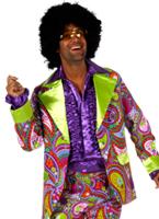 Costume de couleur Funky 70 ' s Disco Déguisement Homme