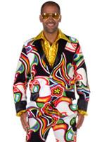 Costume Design liquide masculin 70 ' s Disco Déguisement Homme