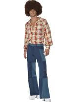 Costumes rétro années 70 Disco Déguisement Homme