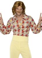 Costume Disco Mens de 1970 Disco Déguisement Homme