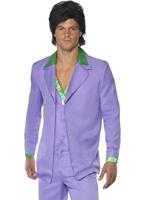 70 ' s Mens lavande costume Costume Disco Déguisement Homme