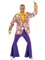 Disco Déguisement Homme Veste amusant Design impression 70 ' s