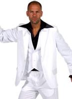 70 ' s Deluxe Mens costume blanc Disco Déguisement Homme